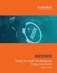 Vendor Management From Scratch