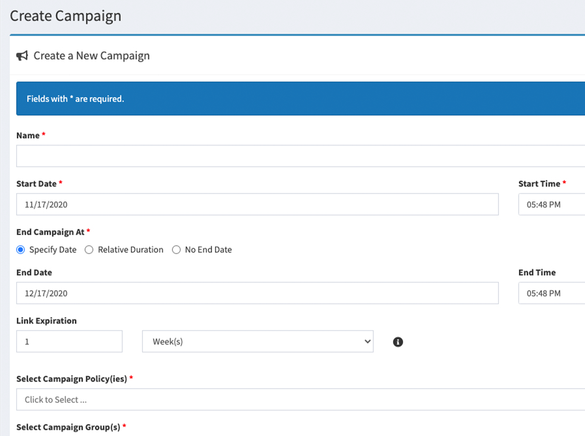 Automated Policy Management Workflow