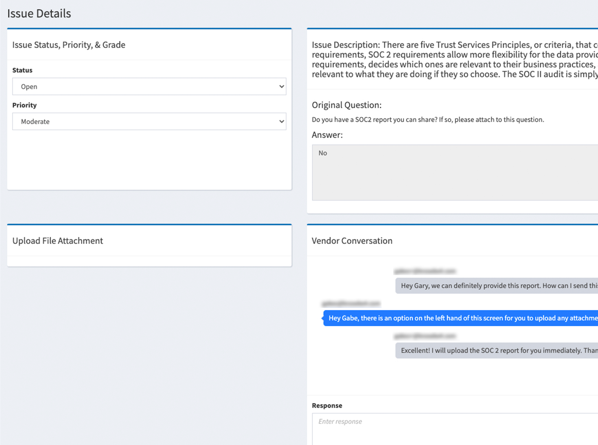 Automated Workflows for Requirements, Remediation and Mitigation